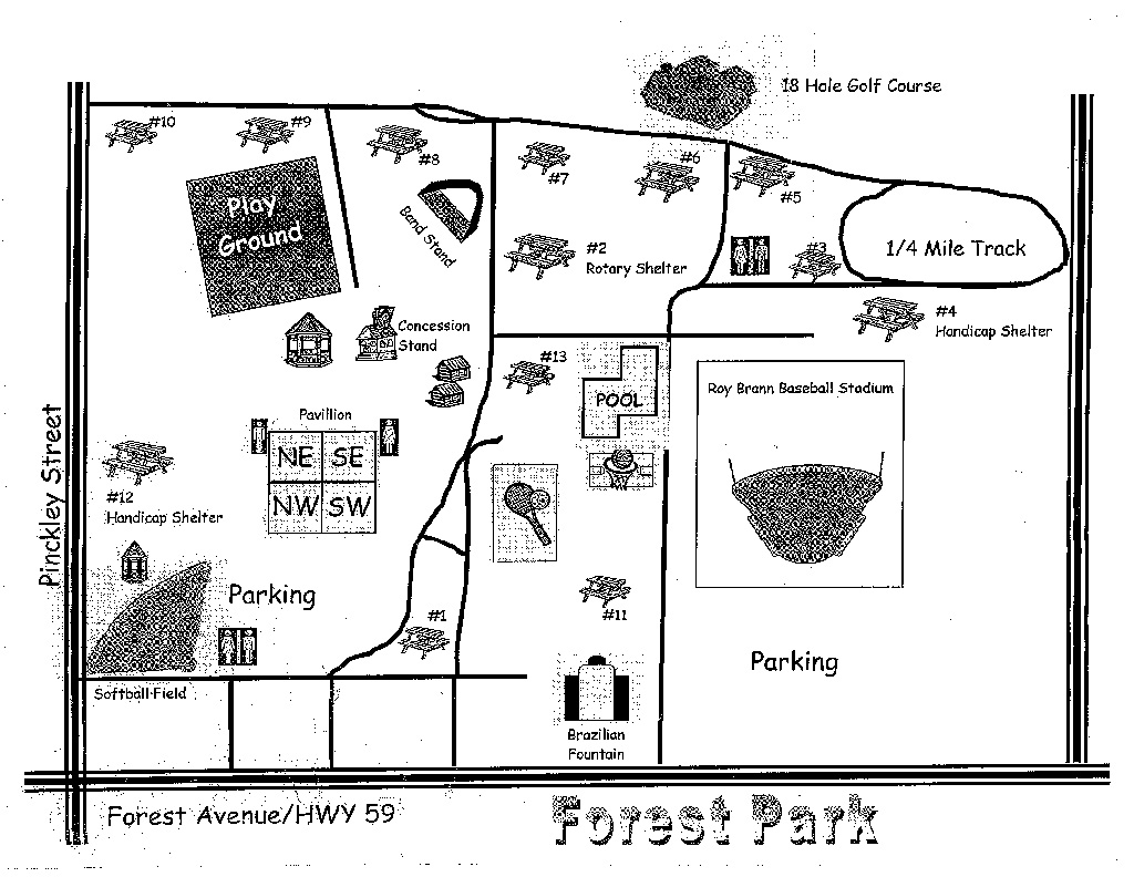Forest Park Trails  Brazil  Indianatrailscom